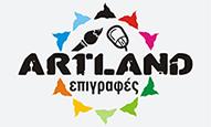 Η Artland αναλαμβάνει τον σχεδιασμό, την υλοποίηση καθώς και την συντήρηση και αντικατάσταση κάθε είδους επιγραφής